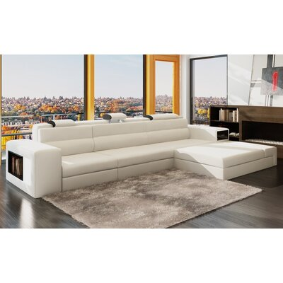 Hokku Designs MF5022B-WT Ashley Esmarelda Sectional Upholstery