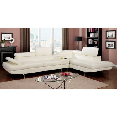 Hokku Designs JEG-7664XI-DU-TFD Derrikke Sectional Upholstery