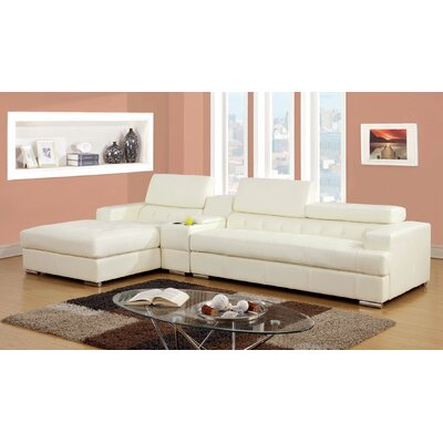 JEG-7233XI-DU-TFD Hokku Designs White Sectionals