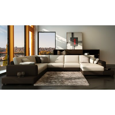 Hokku Designs NG3727 Baxton Sectional
