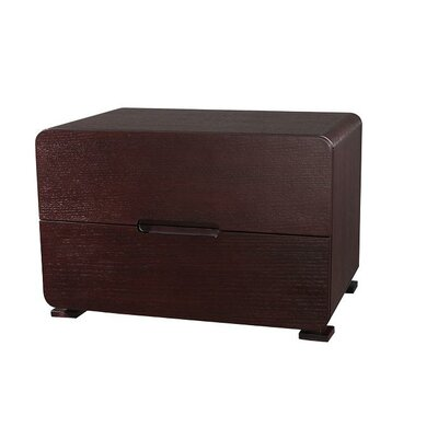 Cosmo 2 Drawer Nightstand