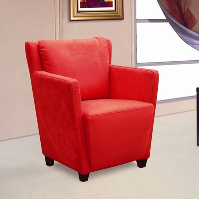 Jetson Chair Upholstery: Red