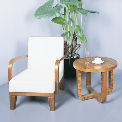 Olive End Table Finish: Teak