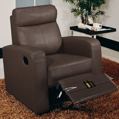 Chair Power Glider Reclining Upholstery: Brown