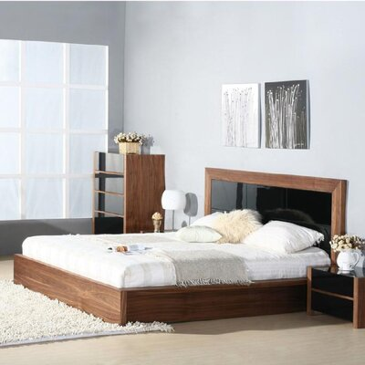 Traxler Platform Bed Size: King