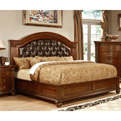 Belton Upholstered Platform Bed Size: California King