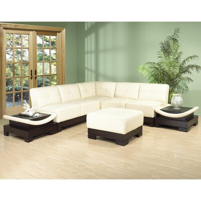 Mirage Sectional Upholstery: Ivory