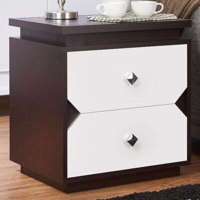 Allee Contemporary End Table