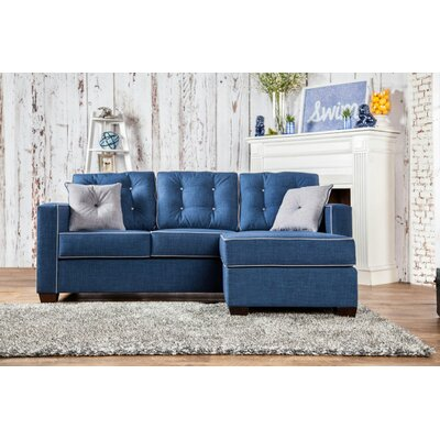 Urban Valor Sectional Upholstery: Blue