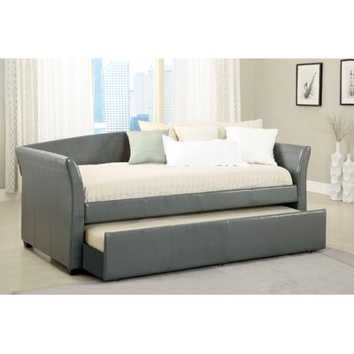 Roma Daybed with Trundle Finish: Gray