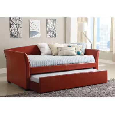 Roma Daybed with Trundle Finish: Rust Red