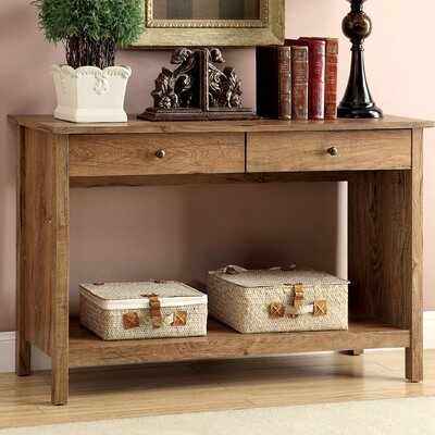 Waldon Console Table Finish: Rustic Oak