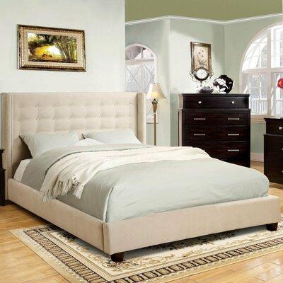 LaTish Upholstered Platform Bed Size: Queen
