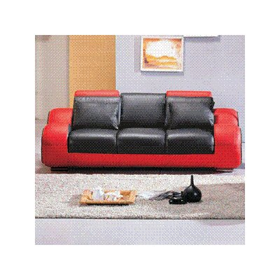 Hematite Leather Configurable Living Room Set