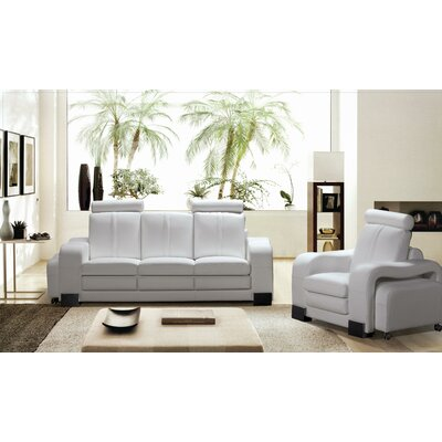 Rollingstone 3 Piece Sofa Set with 3 Ottomans