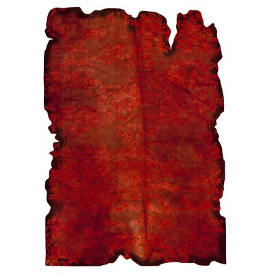 Jalwa 1 Hand-Tufted Red Area Rug Rug Size: 710 x 910