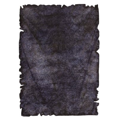 Jalwa 2 Hand-Tufted Charcoal Area Rug Rug Size: 52 x 76