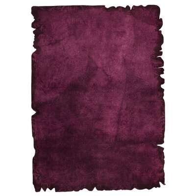 Jalwa 2 Hand-Tufted Purple Area Rug Rug Size: 710 x 910