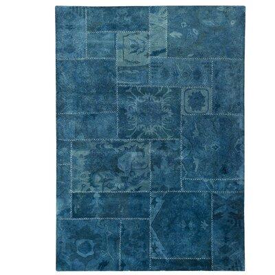 Sarangi Hand-Tufted Turquoise Area Rug