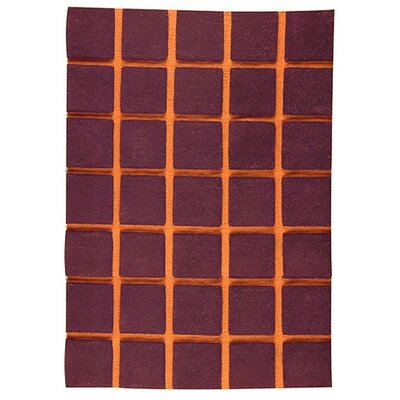 Manhattan Brown Area Rug Rug Size: 46 x 66