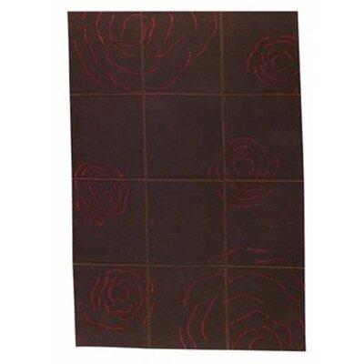 Rose Red Area Rug Rug Size: 46 x 66