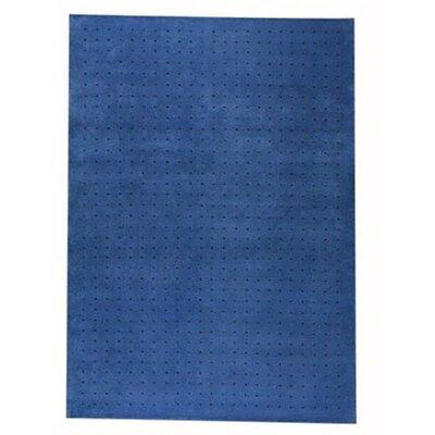 Snow Blue Area Rug Rug Size: 46 x 66