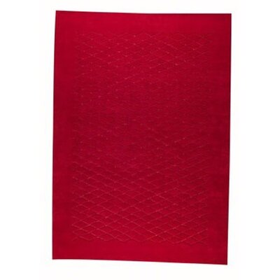 Rhodos Red Area Rug Rug Size: Rectangle 56 x 710
