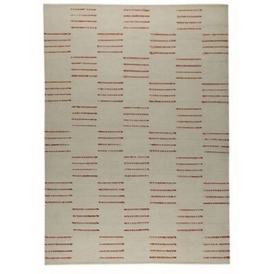 Cyprus White Rug Rug Size: 46 x 66