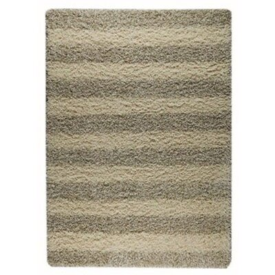 Kyoto Natural Striped Rug Rug Size: Rectangle 46 x 66