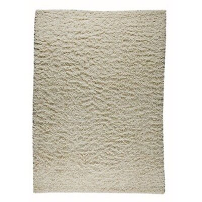 Howzen Mix White Solid Area Rug Rug Size: 8 x 116