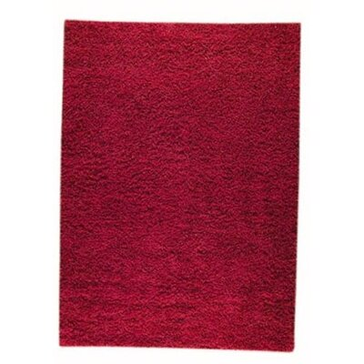 Howzen Mix Red Area Rug Rug Size: Round 66