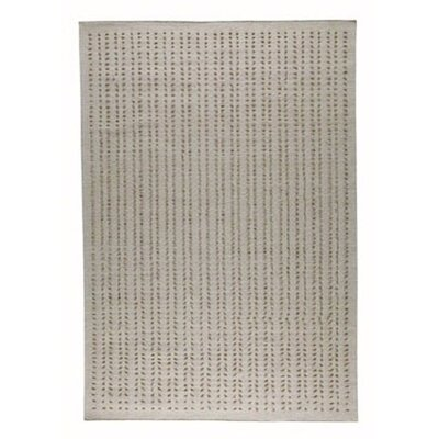 Palm Dale White Area Rug Rug Size: 56 x 710