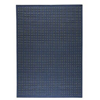 Palm Dale Blue Area Rug Rug Size: 56 x 710