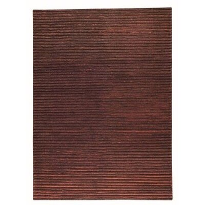 Division Brown Area Rug Rug Size: 83 x 116