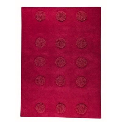 Malmoe Red Area Rug Rug Size: 56 x 710