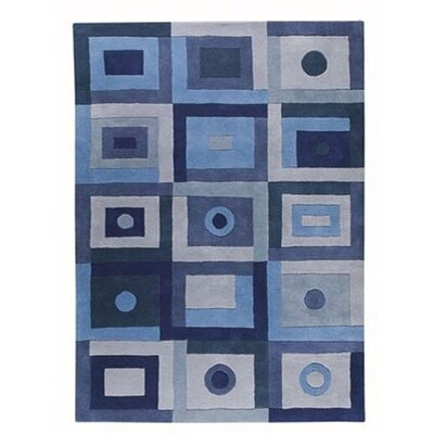 Mabry Blue Area Rug Rug Size: Runner 28 x 71
