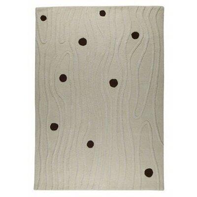 Izmir White Rug Rug Size: 46 x 66