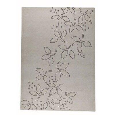 Nice Beige Blossom Area Rug Rug Size: 56 x 710