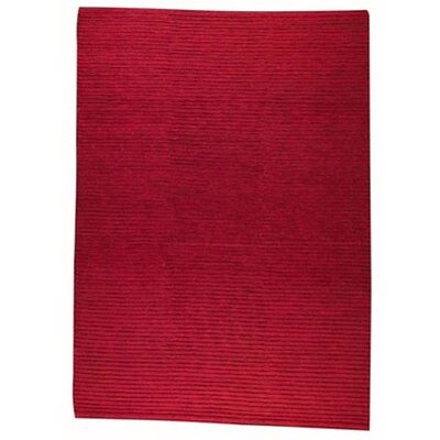 Manchester Red Area Rug Rug Size: Rectangle 56 x 710