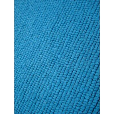 Nodo Teal Area Rug Rug Size: 46 x 66
