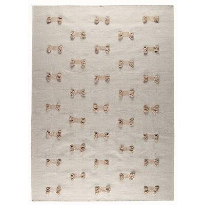 Eyelet White Area Rug Rug Size: 56 x 710