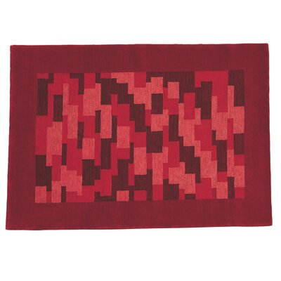 Nule Red Area Rug Rug Size: 56 x 710