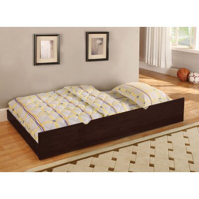 Twin Trundle for Cherry Bedford Bed Finish: Dark Walnut