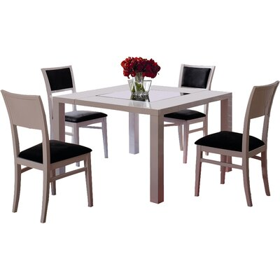 Lucai 5 Piece Dining Set