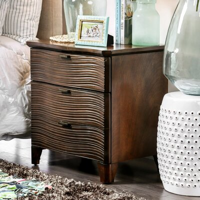 Joaquin 2 Drawer Nightstand