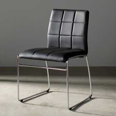 Rockaway Nick Side Chair Finish: Black