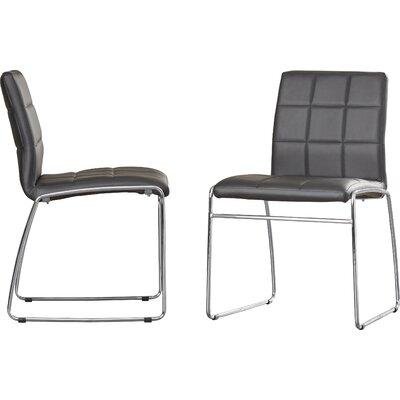 Rockaway Nick Side Chair Finish: Black