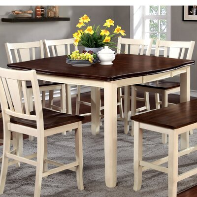 Carolina Dining Table Finish: Cream White