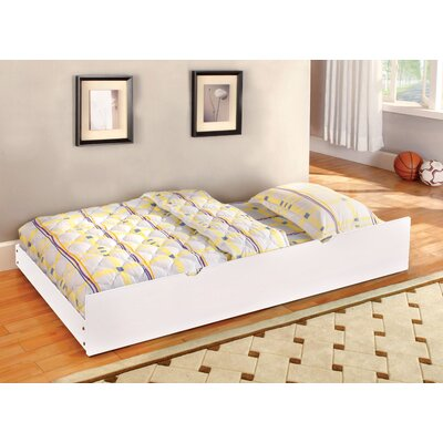 Twin Trundle for Cherry Bedford Bed Finish: White
