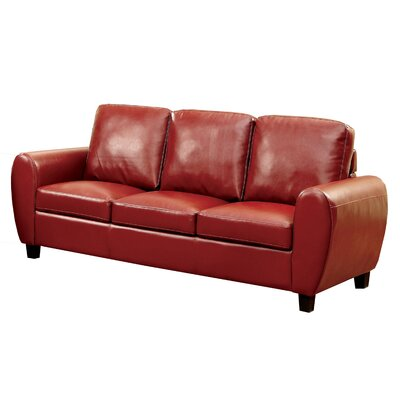 Nona Sofa Upholstery: Red